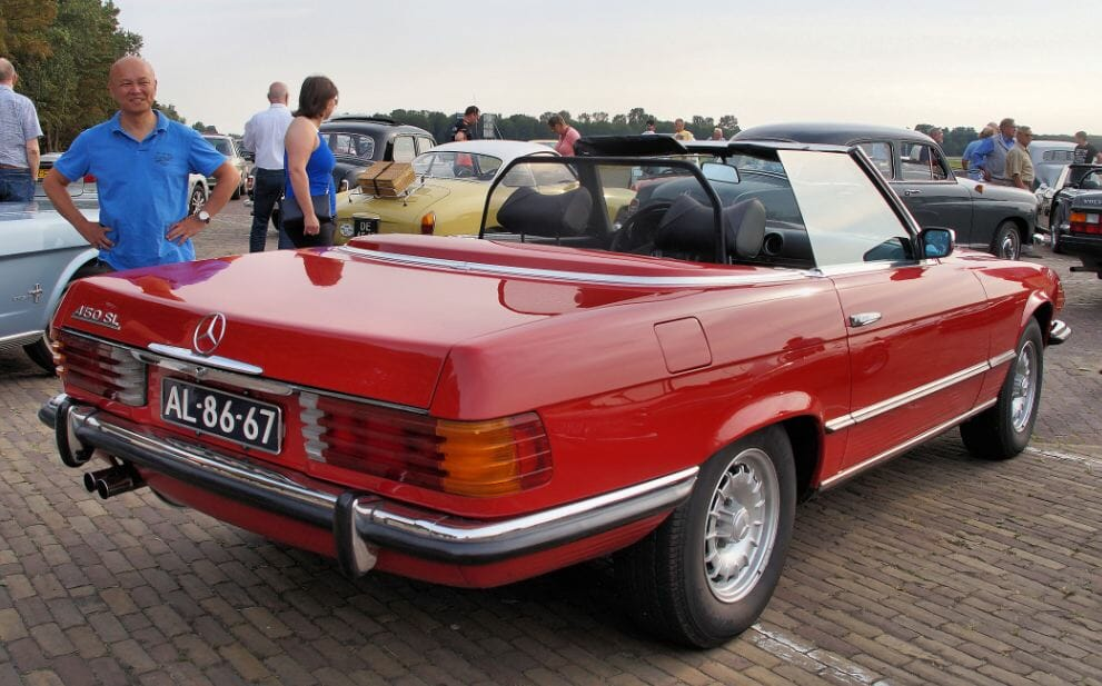 R107 450 SL Mercedes-Benz
