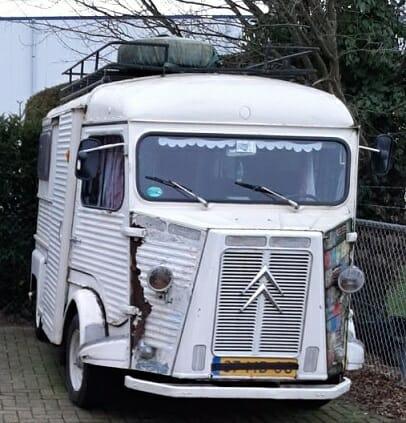 Deze Citroën HY is nog niet afgeschreven.